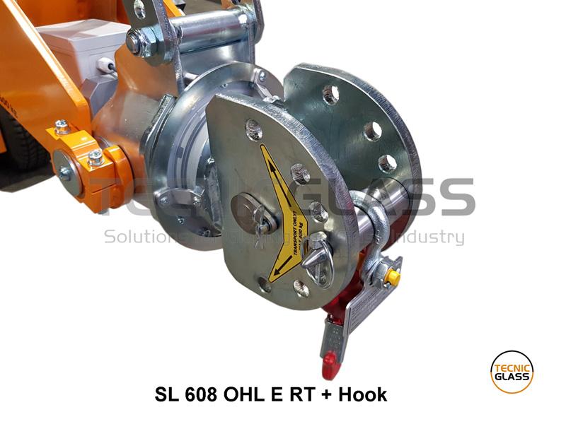 robot cristalero SL608 con gancho