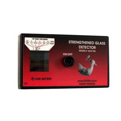 detector vidrio templado